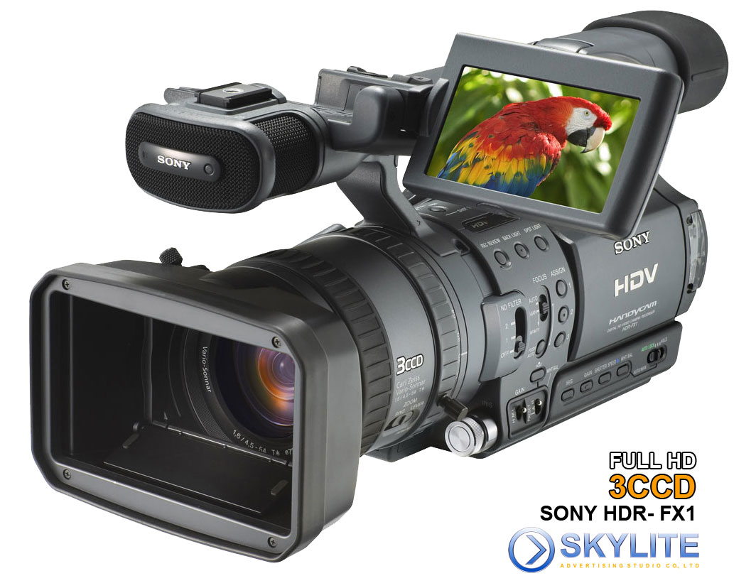 Sony HDR FX1 3CCD HDV Camera for Rent